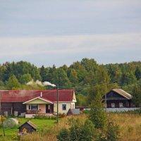 Утро в вологодской деревеньке :: Nikolay Monahov