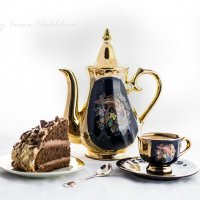 Утренний кофе :: Ирина Чехлова