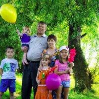 С внуками... :: Olga Rosenberg