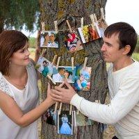 деревянная свадьба :: Райская птица Бородина