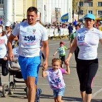 Папа, мама я - спортивная семья :: Юрий Толстогузов