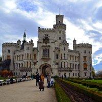 Замок Глубока-над-Влтавой :: Ольга