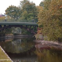Мост через Монастырку :: Дмитрий Лебедихин