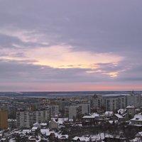 Над городом :: Алёна Сергеевна