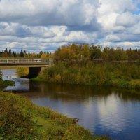 Бежит река... :: Вера Андреева