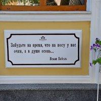 Одесский дворик. :: Семён Пензев