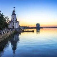 Спокойный вечерний город! :: Denis Aksenov