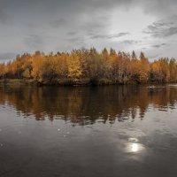 Осень-падшая листва оплевавшая дорогу. Осень-смертная тревога, ухмельнулася река... :: Павел Федоров
