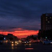 Городской закат :: Алексей
