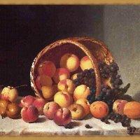 Сплошные витамины.Касаясь фруктов кистью :: Лидия (naum.lidiya)