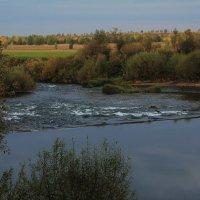 порог на заброшенной плотине :: Владимир Акилбаев