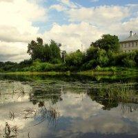 Это не пруд, это наша река летом :: irina