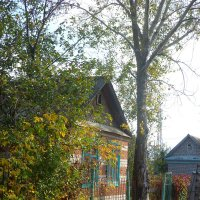 Домик в саду-огороде. :: НАДЕЖДА КЛАДЧИХИНА