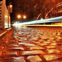 Мощённая булыжником ул. Еврейская в Одессе :: Денис Кораблёв