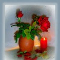 Лепестками роз тебе любовь моя.... :: Людмила Богданова (Скачко)