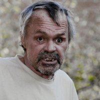 Портрет пенсионера Рябова... :: Владимир Шитиков