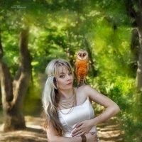 Повелительница птиц.. :: Юлия Романенко