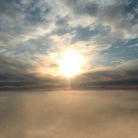 Между небом и землей :: владимир полежаев