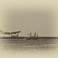 корабли и самолёты... :: Александр