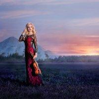 закат :: Наталья Тихонова