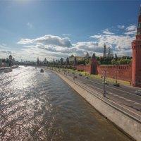Москва-река. :: Михаил Галынский