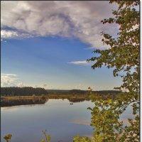 Волга, где-то между Рыбинскои и Угличем :: Дмитрий Анцыферов
