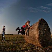 Прыгало от радости  девчонкой поле... :: Ирина Данилова