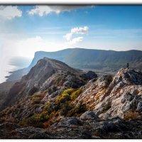 человек на горе не с неба туда свалился :: Sergey Bagach