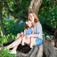 Мама и доча :: Татьяна Ворчик