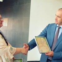 """Вручение Экологических сертификатов ГК """"Терра-Авто"""" :: Anzhelika Yagodkina"""
