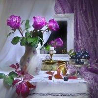 Запах розы подарю в тиши туманов... :: Валентина Колова