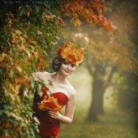 Девушка-осень :: Ярослава Бакуняева