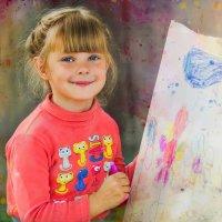 Юная художница :: Ирина Белоусова