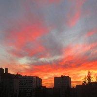 Пылал закат :: Самохвалова Зинаида