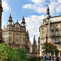 Площадь Францисканцев в Будапеште :: Денис Кораблёв