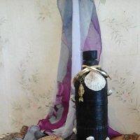 Натюрморт с декоративной бутылкой. :: Светлана Калмыкова