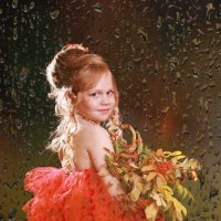 Осенний портрет.Полина :: Римма Алеева