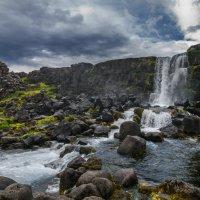 "Водопад ""Топор"", Исландия :: Денис Глебов"