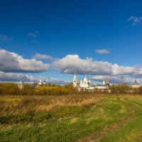 Дорога к Спасо-Прилуцкому монастырю :: Татьяна Копосова