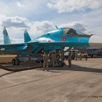 су-34..подготовка в полету :: Виктор Перякин