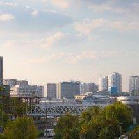 Городской пейзаж :: Юлия Строчилина