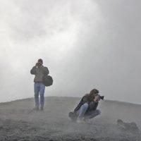 Фотографы на Этне. Снимаем в облаках :: Alexandr Zykov