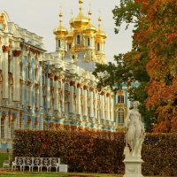 Двор Екатерининского дворца. :: Владимир Гилясев