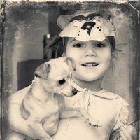 Дина и её собака :: Ксения Старикова