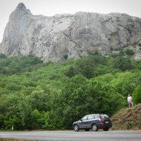 На фоне Карадага.. :: Владимир Сквирский