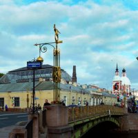 Петербург. Фонтанка. Муха :: Иван Миронов