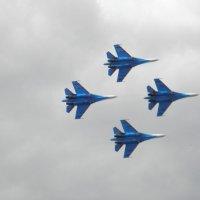 """""""Русские Витязи"""" - отличная пилотажная группа истребителей) :: Алиса Калугина"""