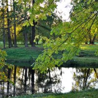 Осенний вечер в парке :: Александр Яковлев