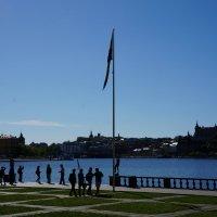 У Ратуши...Стокгольм :: Алёна Савина