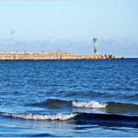 Балтика. Море. Мол. :: Валерия Комова